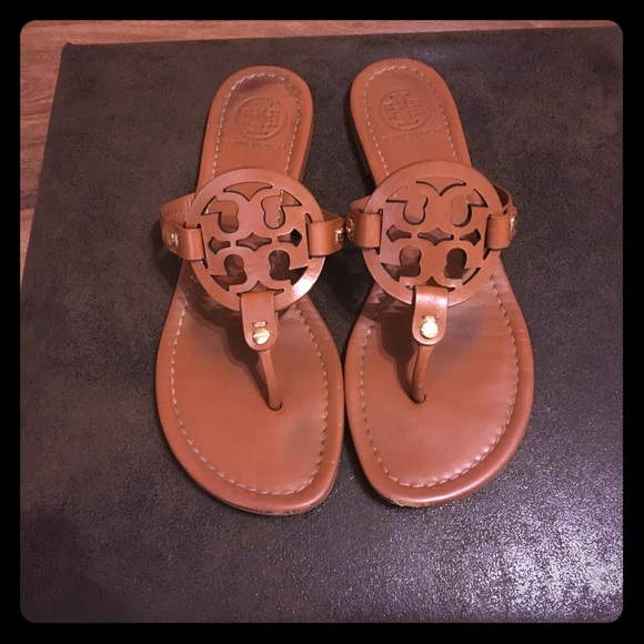 a08360418 Tory Burch Shoes - Tory Burch Miller Sandals 8.5 w  box   travel bag